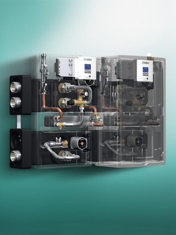 Grupo hidráulico solar auroFLOW exclusive Vaillant
