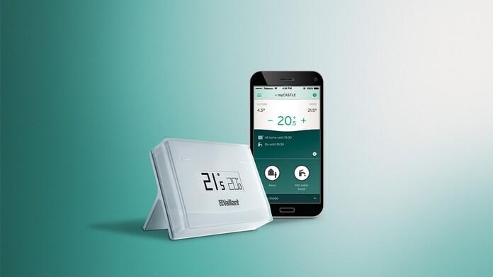 Regulador vSMART con app del smartphone