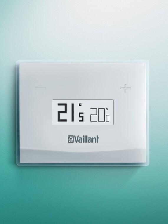 Vsmart termostato wifi modulante vaillant for Termostato caldera wifi