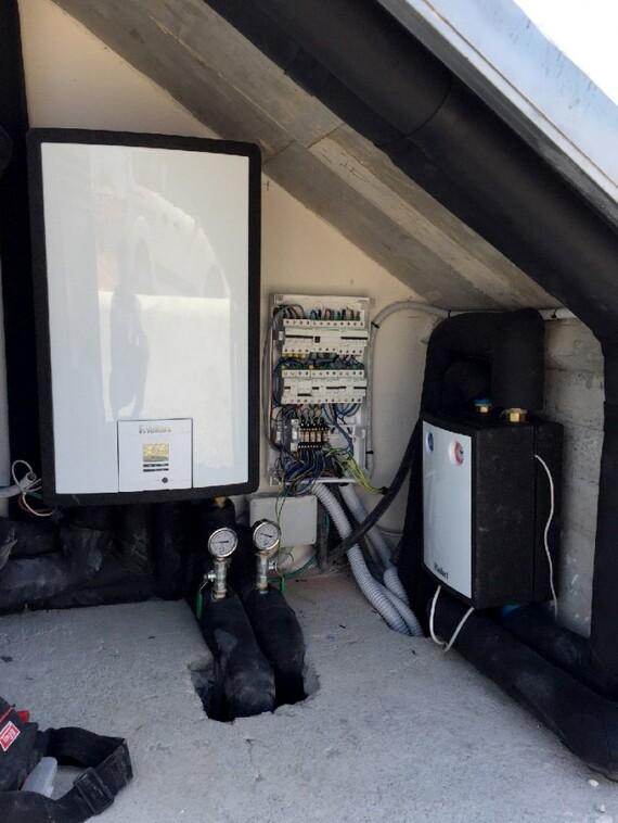 Instalación aerotérmica en Ibiza