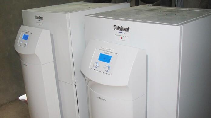 Climatización con bomba de calor geotermica de alta potencia