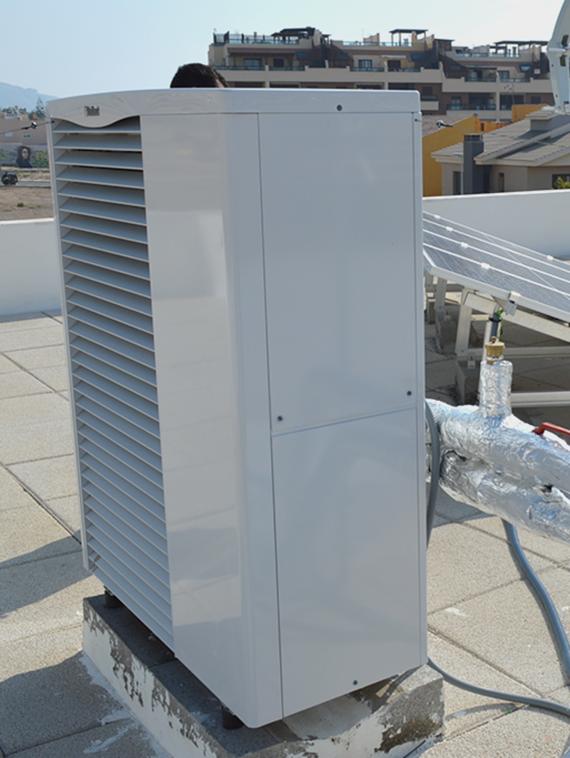 Hibridación de aerotermia con energía fotovoltaica