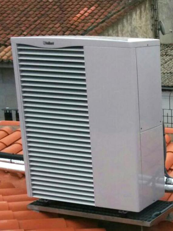Climatización y producción de ACS con bomba de calor aire-agua