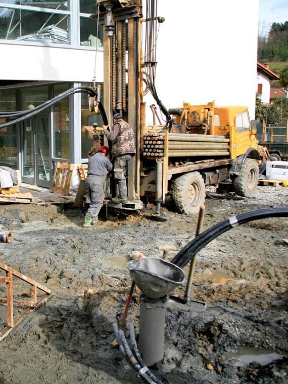 Perforación geotermia