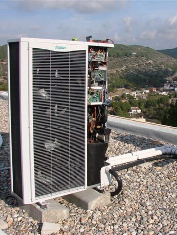 Bomba de calor aire-agua VWL 125/1