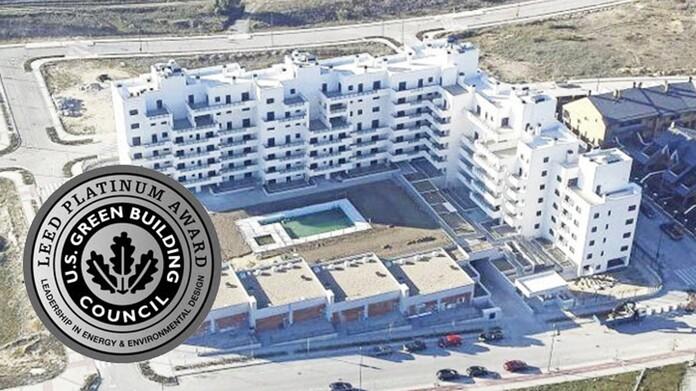 Primer edificio de viviendas con certificación LEED PLATINUM en Europa