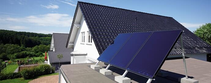 Reforma viviendas unifamiliares - Energía solar | Vaillant
