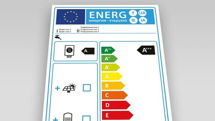 Aplicación etiqueta energético Vaillant