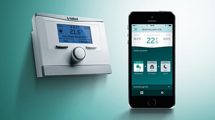 Regulador multiMATIC con app del smartphone