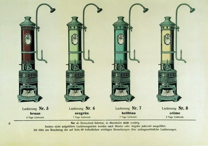 """El calentador de agua de """"sistema cerrado"""" para el baño: una invención de Vaillant"""
