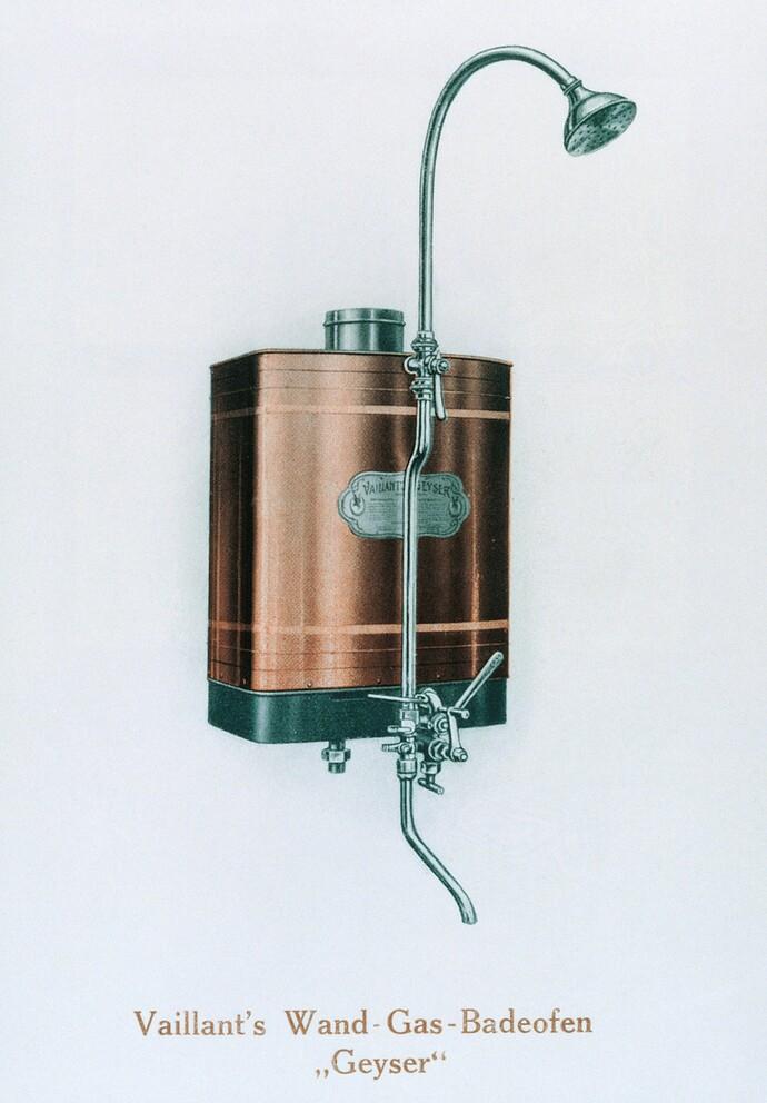Vaillant se convierte en el primer fabricante de calentadores de agua de pared