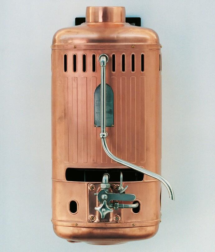 Vaillant inventa la calefacción central