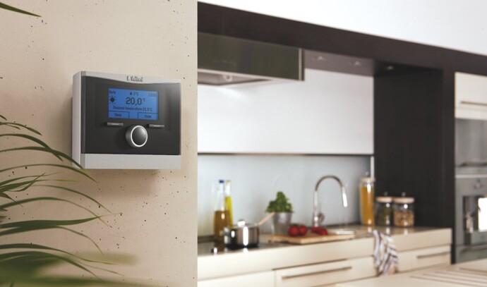 Control de fácil uso calorMATIC de Vaillant